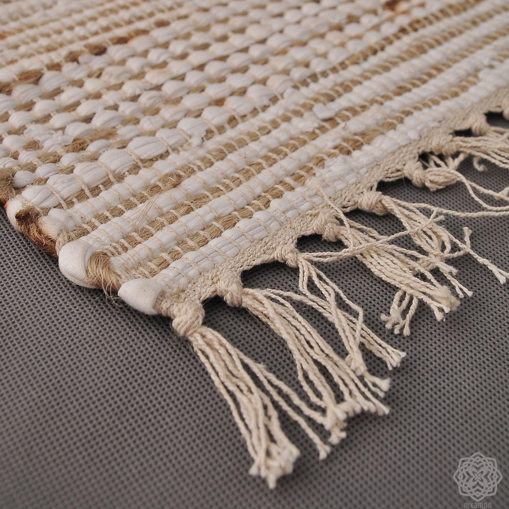 Nietypowy Okaz Dywany ręcznie tkane. Juta i Bawełna. – Nikamon – jako market bug ZP97